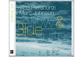 Pietro Pieranunzi, Pieranunzi,Enrico,Marc Johnson - Yellow & Blue Suites - (CD)
