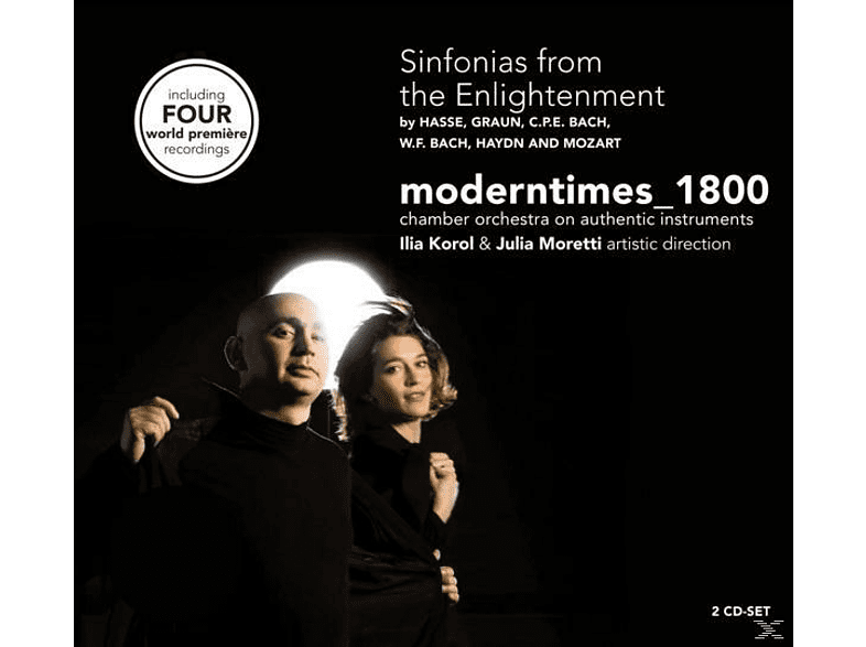 Modern Times, Modern Times 1800 - Sinfonias From The Enlightenment [CD]