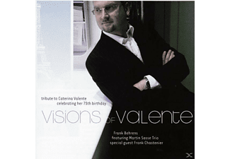 Behrens,Frank Feat.Sasse,Martin Trio - Visions Of Valente - (CD)