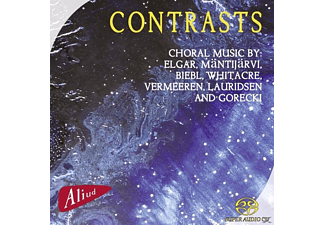Vocaal Ensemble Cantatrix - Contrasts - (SACD Hybrid)