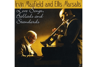 Ellis Marsalis, Irvin And Ellis Marsalis Mayfield - Love Songs,Ballads And Standards - (CD)