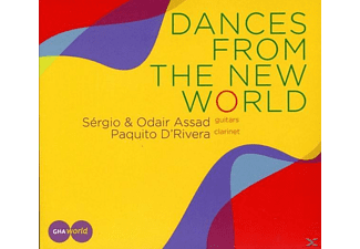 Paquito d'Rivera, Sérgio Assad, Odair Assad - Dances From The New World - (CD)