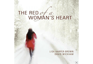 Lisa Harper-Brown, David Wickham - The Red of a Woman's Heart - (CD)