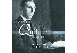 Stone,Mark/Barlow,Stephen - The Complete Quilter Songbook Vol.2 - (CD)