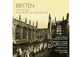 Christopher Gould Daniel Norman - Britten Canticles - (CD)