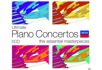 VARIOUS - Ultimate Piano Concertos - (CD)
