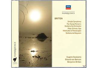 Danish National Radio Symphony Orchestra, Concertgebouw Orchestra, New Symphony Orchestra Of London, Sir Eugene Aynsley Goossens, Eduard Van Beinum - Simple Symphony,4 Sea Interlude,op.33a from Pet - (CD)