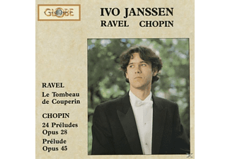 Ivo Janssen - Ravel: Le Tombeau de Couperin & Chopin: 24 Prelude - (CD)