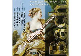 VARIOUS, Rebecca Clarke, Hazelzet, Ogg, Stuurop - Five Trio Sonates For Flute & - (CD)