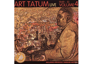 Art Tatum - Live Volume Four 1949-1951 - (CD)