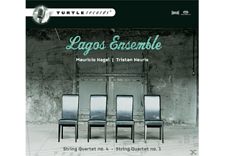 Lagos Ensemble - Kagel/Keuris-String Quartets - (SACD)
