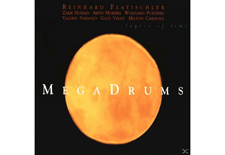 Megadrums - Layers Of Time - (CD)
