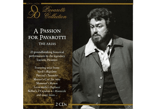 Luciano Pavarotti - A Passion For Pavarotti: The Arias - (CD)