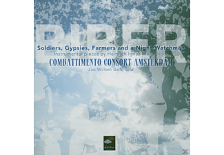 Combattimento Consort Amsterdam - Soldiers,Gypsies,Farmers And A Ni - (SACD)