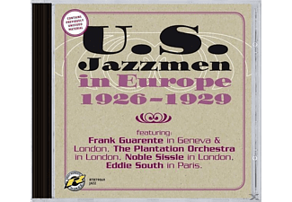 Frank/the Plantation Orchestra/sissl Guarente - Us Jazzmen In Europe 1926-1929 - (CD)