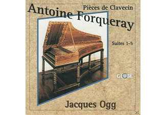 Jacques Ogg - Pieces de Clavecin - (CD)