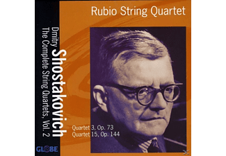 Rubio String Quartet - The String Quartets Vol.2 - (CD)