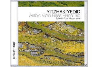 Yitzhak Yedid - Arabic Violin Bass Piano Trio - (CD)