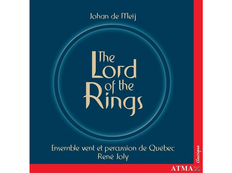 Joly, Ensemble Vent Et Percussion Quebec, Joly/Ensemble Vent Et Percussion Quebec - Herr Der Ringe [CD]