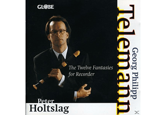 Peter Holtslag - The Twelve Fantasies - (CD)