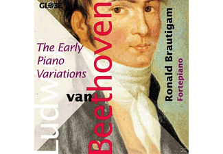 Ronald Brautigam - The Early Piano Variations - (CD)
