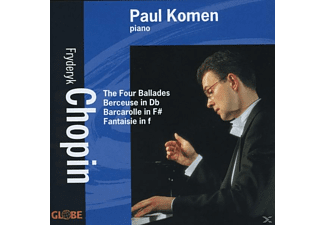 Paul Komen - 4 Balladen/Berceuse/Barcarolle - (CD)