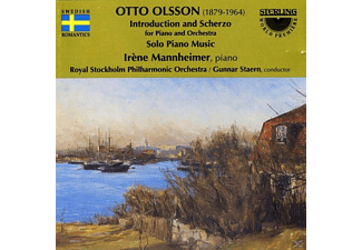 Royal Stockholm Symphony Orchestra - Introduction and Scherzo - Solo Piano Music - (CD)
