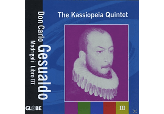 The Kassiopeia Quintet - Madrigali Libro III - (CD)