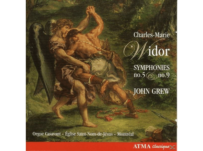 John Grew - Orgelsinfonien 5+9 [CD]