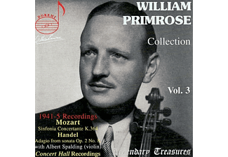 Stiedry, William Primrose, New Friends Of Music, William/stiedry/new Friends Of Music Primrose - Primrose Collection Vol.3 - (CD)