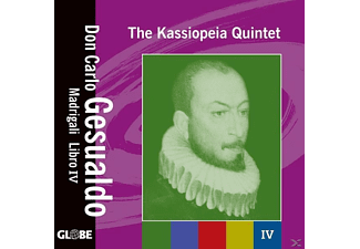 The Kassiopeia Quintet - MADRIGALI LIBRO 4 - (CD)