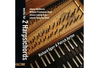 Richard Egarr - Works for 2 Harpsichords - (CD)
