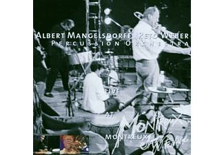 Albert & Reto Weber Percussion Orche Mangelsdorff - Live At Montreux - (CD)