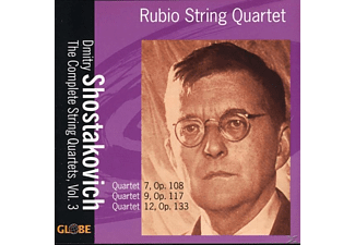 Rubio String Quartet - The String Quartets Vol.3 - (CD)