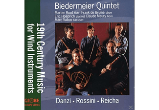 Biedermeier Quintet - 19th Century Music for Wind Instruments - (CD)