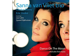Sanna Van Trio Vliet - Dance On The Moon - (CD)