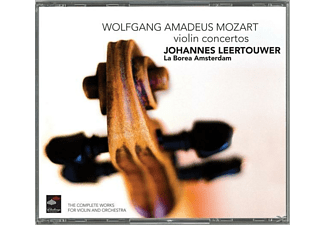 Johannes Leertouwer - Complete Works For Violin & Orchestra - (CD)