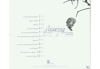 Frith Fred - Clearing - (CD)