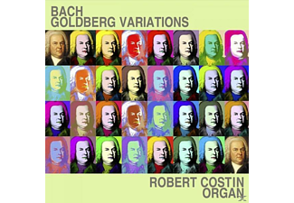 Robert Costin - Bach Goldberg Variations - (CD)