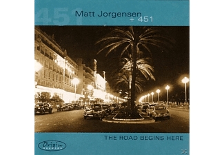 Matt Jorgensen +451 - The Road Begins Here - (CD)