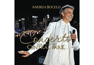 Andrea Bocelli - Concerto - One Night in Central Park - Remastered (CD)
