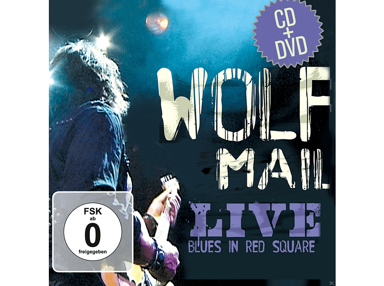 Wolf Mail - Live Blues In Red Square [CD + DVD]