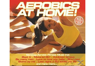 VARIOUS - Aerobics At Home! [CD]