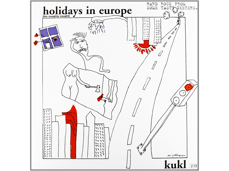 Kukl - Holidays In Europe [Vinyl LP] [Vinyl]