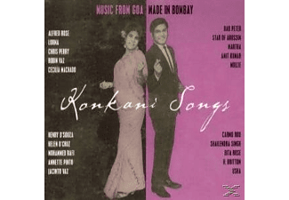 VARIOUS - Konkani Songs-Music From Goa Made In Bombay - (CD)
