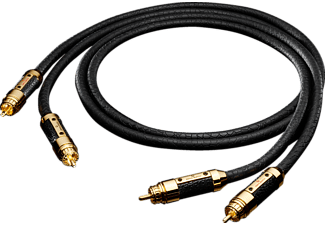 OEHLBACH NF-Audio-Cinchkabel XXL® CONNECTION MASTER SET, Kabel, 1000 mm, Schwarz
