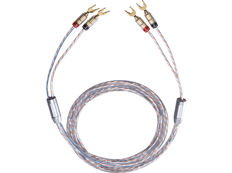 OEHLBACH  10733 TWINMIX TWO 2X6 MM² 2X3M Kabel, Glasklar | 04003635107331