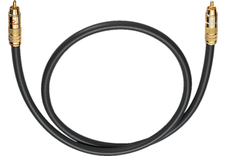 OEHLBACH Subwoofer Cinch-Kabel NF 214 Subwooferkabel 6,0m, Kabel, 6000 mm, Anthrazit
