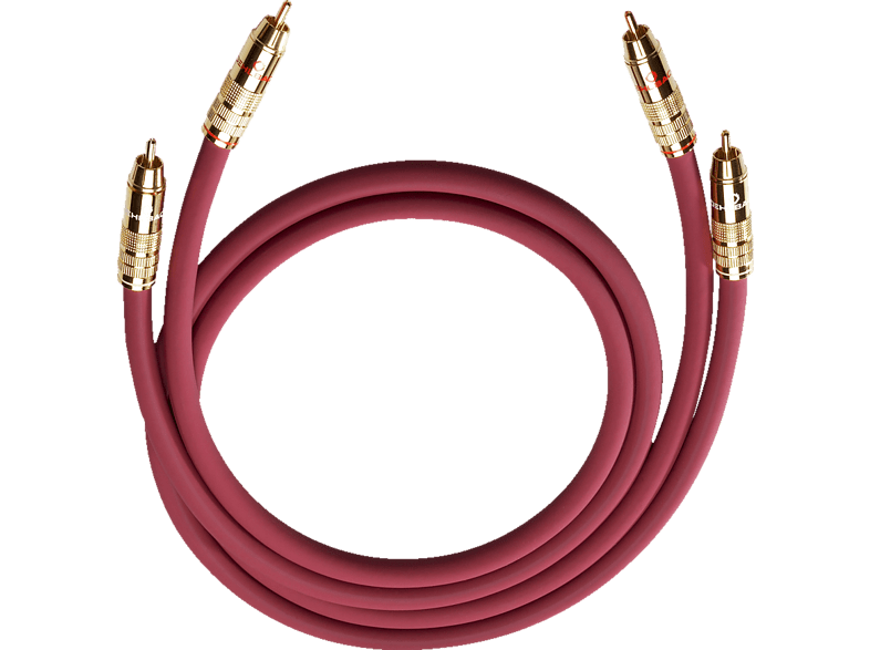 OEHLBACH  NF-Audio-Cinchkabel NF 214 MASTER SET 2×0.5 m Kabel, Anthrazit | 04003635020456