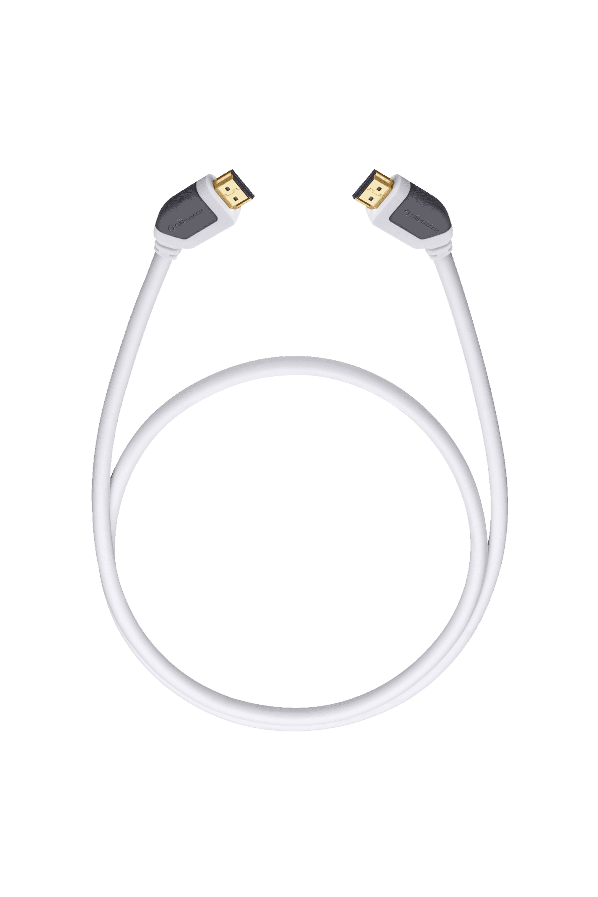 OEHLBACH 52574 SHAPE MAGIC HDMI-Kabel, 3200 mm in Weiß